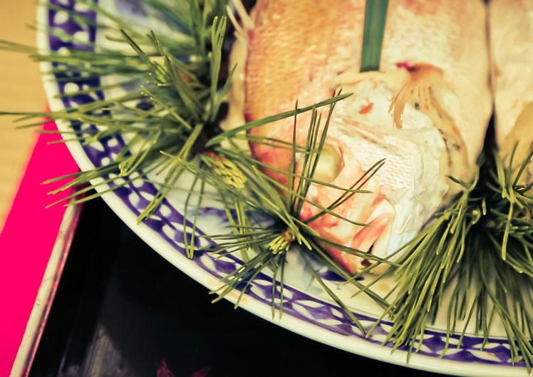 金沢婚礼屋 鯛の唐蒸し